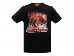 Michael Schumacher T-Shirt Challenge Tour 2011 preto