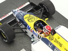Nelson Piquet Williams Honda FW11 #6 fórmula 1 1986 1:18 Minichamps