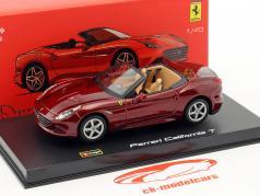 Ferrari California T open dunkelrot 1:43 Bburago Signature