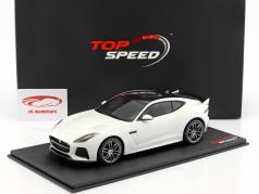 Jaguar F-Type R SVR ano de construção 2015 branco 1:18 TrueScale