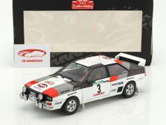 Audi Quattro A1 #3 winnaar Rallye Portugal 1983 Mikkola, Hertz 1:18 SunStar