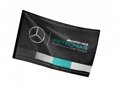 Mercedes-Benz AMG Petronas équipe drapeau noir 90 x 60 cm