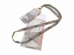 Michael Schumacher Ticketband silber / grau