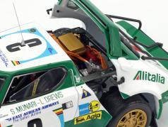 Lancia Stratos HF #3 второй Safari Rallye 1975 Munari, Drews 1:18 SunStar