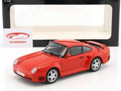 Porsche 959 rosso Anno 1986 1:18 AUTOart