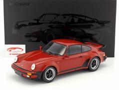 Porsche 911 (930) Turbo Baujahr 1977 peru rot 1:12 Minichamps