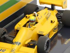 Ayrton Senna Lotus 99T #12 vencedor monaco GP fórmula 1 1987 1:43 Minichamps