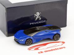 Peugeot Vision GT year 2015 blue metallic / black 1:64 Norev