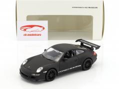 Porsche 911 (997) GT3 RS mattschwarz 1:24 Welly