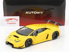 Lamborghini Huracan GT3 Bouwjaar 2015 geel 1:18 AUTOart