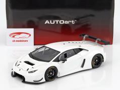 Lamborghini Huracan GT3 Opførselsår 2015 hvid 1:18 AUTOart