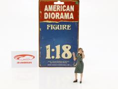 50s Style figuur IV 1:18 American Diorama