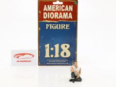 50s Style figuur V 1:18 American Diorama