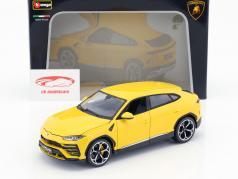 Lamborghini Urus amarillo 1:18 Bburago