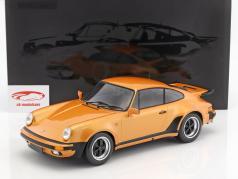 Porsche 911 (930) Turbo ano de construção 1977 laranja metálico 1:12 Minichamps