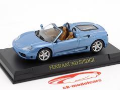 Ferrari 360 Spyder blue 1:43 Altaya