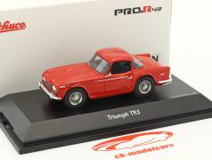 Triumph TR5 closed Top 红 1:43 Schuco