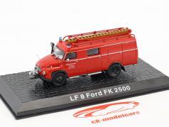 Ford FK 2500 LF 8 usine pompiers Lonza 1:72 Altaya