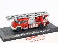 Mercedes-Benz L1519 Metz DLK30 bombeiros 1:72 Altaya
