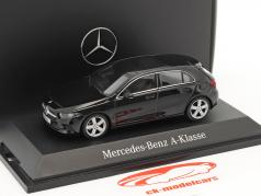 Mercedes-Benz A-Class cosmos noir métallique 1:43 Herpa