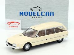 Citroen CX 2500D Super Break Serie I Baujahr 1976 beige 1:18 Model Car Group
