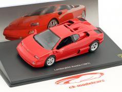 Lamborghini Acosta Bouwjaar 1997 rood 1:43 Leo Models