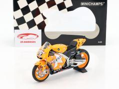 Casey Stoner Honda RC212V #27 winner Aragon GP World Champion MotoGP 2011 1:12 Minichamps