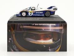 Porsche 956K #2 запись на коленях Нордшляйфе 6.11,13 min 1000km Nürburgring 1983 Bellof, Bell 1:43 CMR