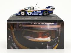 Porsche 956K #2 regazo registro Nordschleife 6.11,13 min 1000km Nürburgring 1983 Bellof, Bell 1:43 CMR
