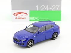 Maserati Levante Baujahr 2017 blau 1:24 Welly