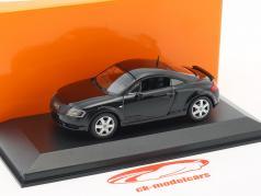 Audi TT クーペ 築 1998 黒 1:43 Minichamps