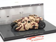 Batman Tumbler animated film Batman begins (2005) camouflage 1:43 Altaya
