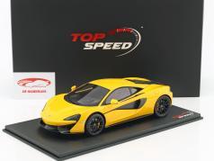McLaren 570S vulcão amarelo 1:18 TrueScale