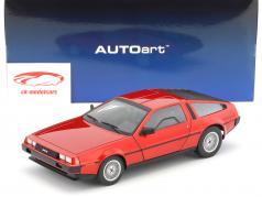 De Lorean DMC-12 Opførselsår 1981 rød metallisk 1:18 AUTOart