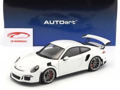 Porsche 911 (991) GT3 RS Opførselsår 2016 hvid 1:18 AUTOart