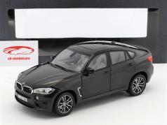 BMW X6 M (F86) Safir sort metalliske 1:18 Norev