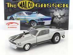 Ford Mustang Gasser ano de construção 1967 Gone in 6 Seconds (TV episódio 2015) cinza 1:18 GMP