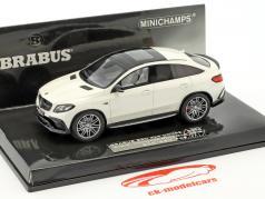 Brabus 850 4x4 Coupe auf Basis Mercedes-Benz AMG GLE 63 S Baujahr 2016 weiß 1:43 Minichamps