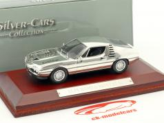 Alfa Romeo Montreal chrome 1:43 Atlas
