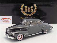 Cadillac Series 62 Club Coupe ano de construção 1941 escuro cinza metálico 1:18 BoS-Models