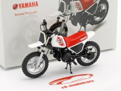 Yamaha PW 50  year 1981 white / red / black 1:12 Spark