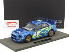 Subaru Impreza S7 WRC #5 Winner Rallye New Zealand 2001 Burns, Reid 1:18 TopMarques