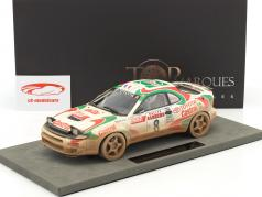 Toyota Celica GT4 Dirty Vision #8 Vinder Rallye San Remo 1994 Auriol, Occelli 1:18 TopMarques