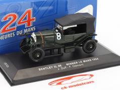 Bentley 3L #8 勝者 24h LeMans 1924 Duff, Clement 1:43 Ixo