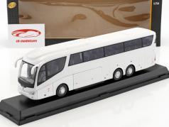 Scania Irizar Pb bus white 1:50 Cararama