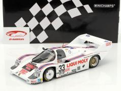 Porsche 956K #33 cuarto 1000km Spa 1983 Stuck, Grohs, Brun 1:18 Minichamps