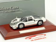 Porsche 906 chrome 1:43 Atlas
