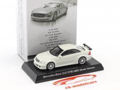 Mercedes-Benz CLK DTM AMG Street Version white 1:64 Kyosho