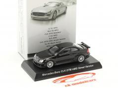 Mercedes-Benz CLK DTM AMG Street Version black 1:64 Kyosho