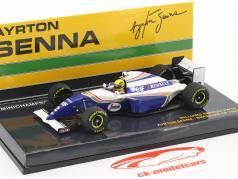 Ayrton Senna Williams FW16 #2 ブラジル GP 式 1 1994 1:43 Minichamps